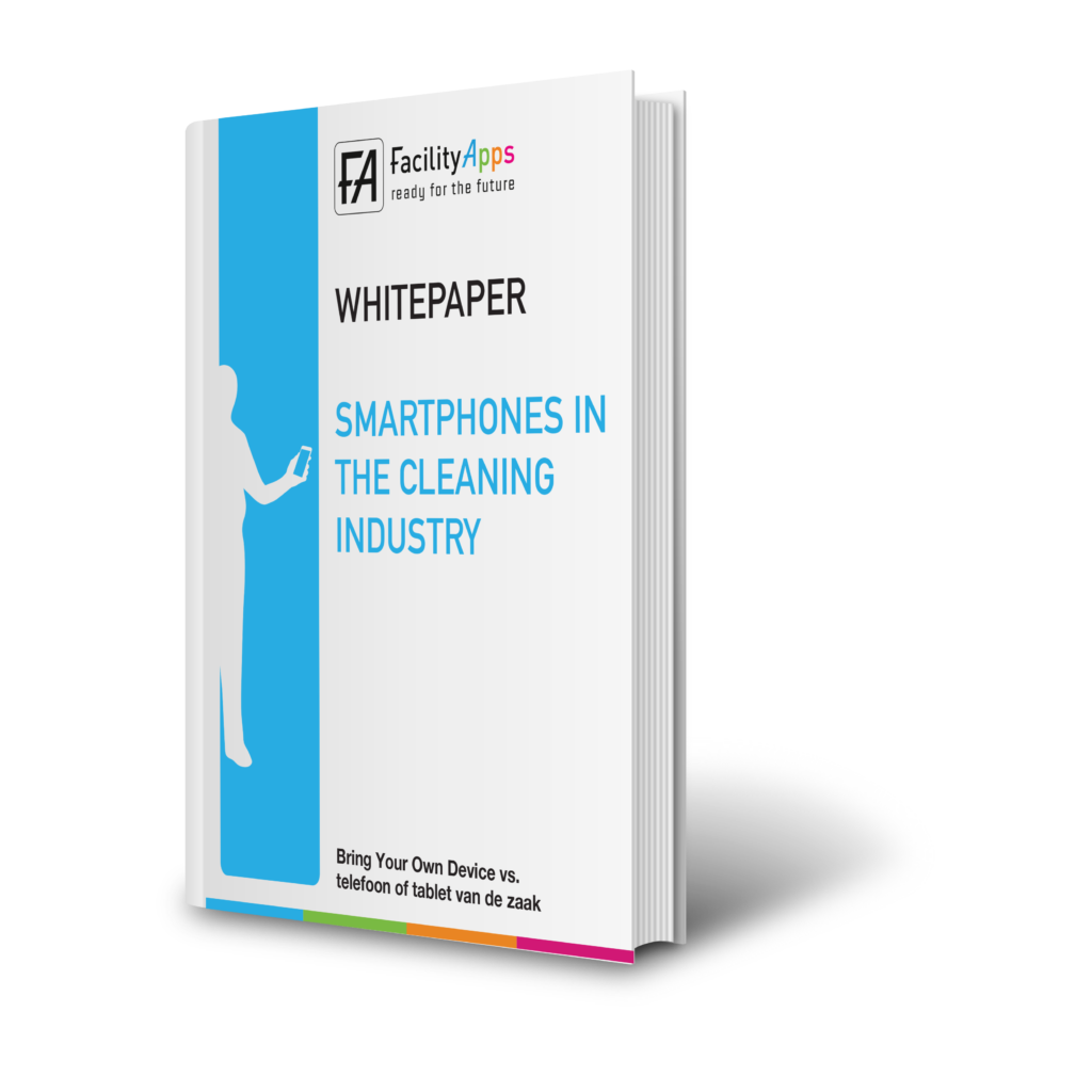 Smartphones in the cleaning industry