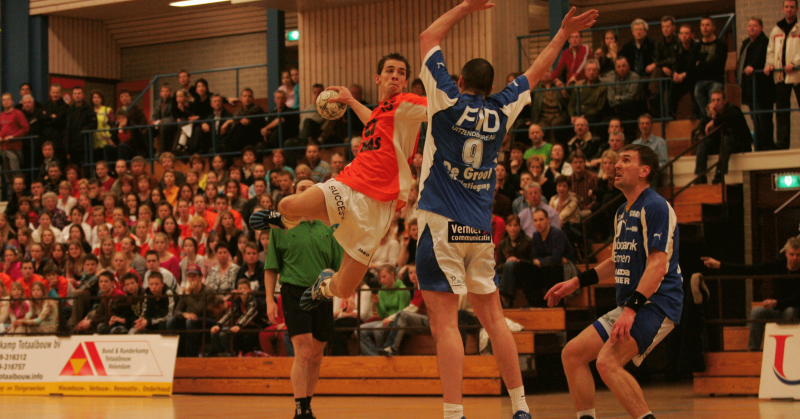 Dirk as a handball player