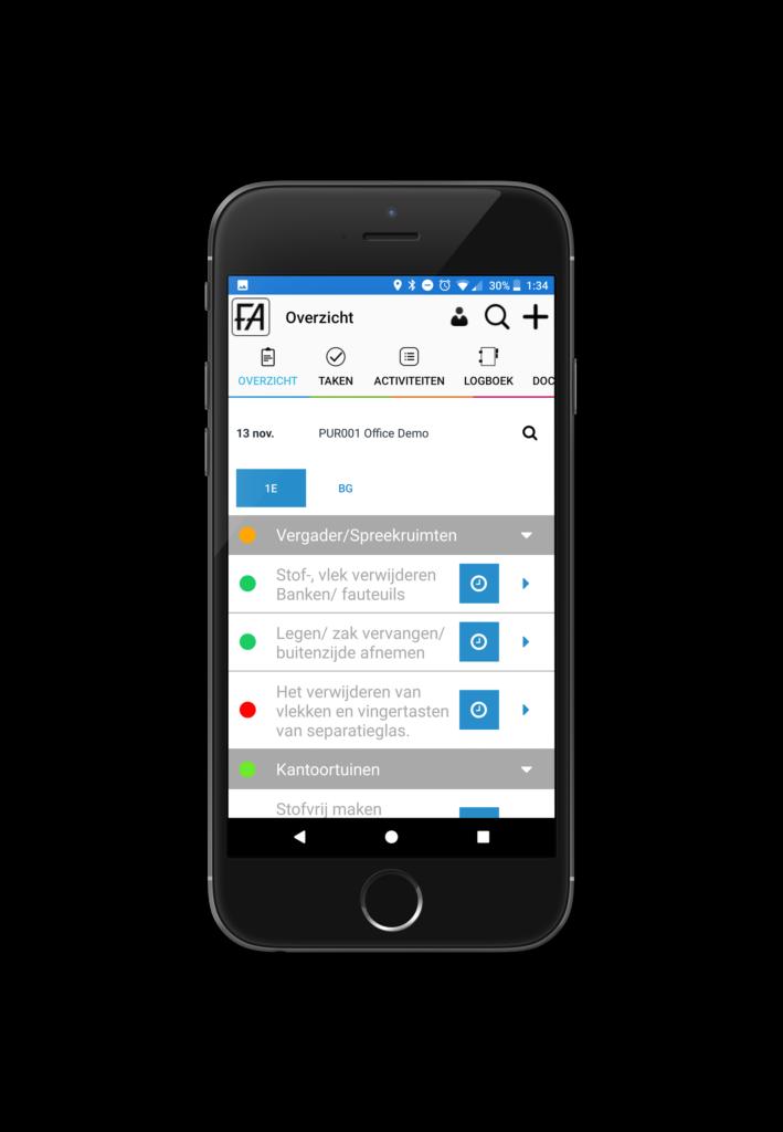 werkprogramma app