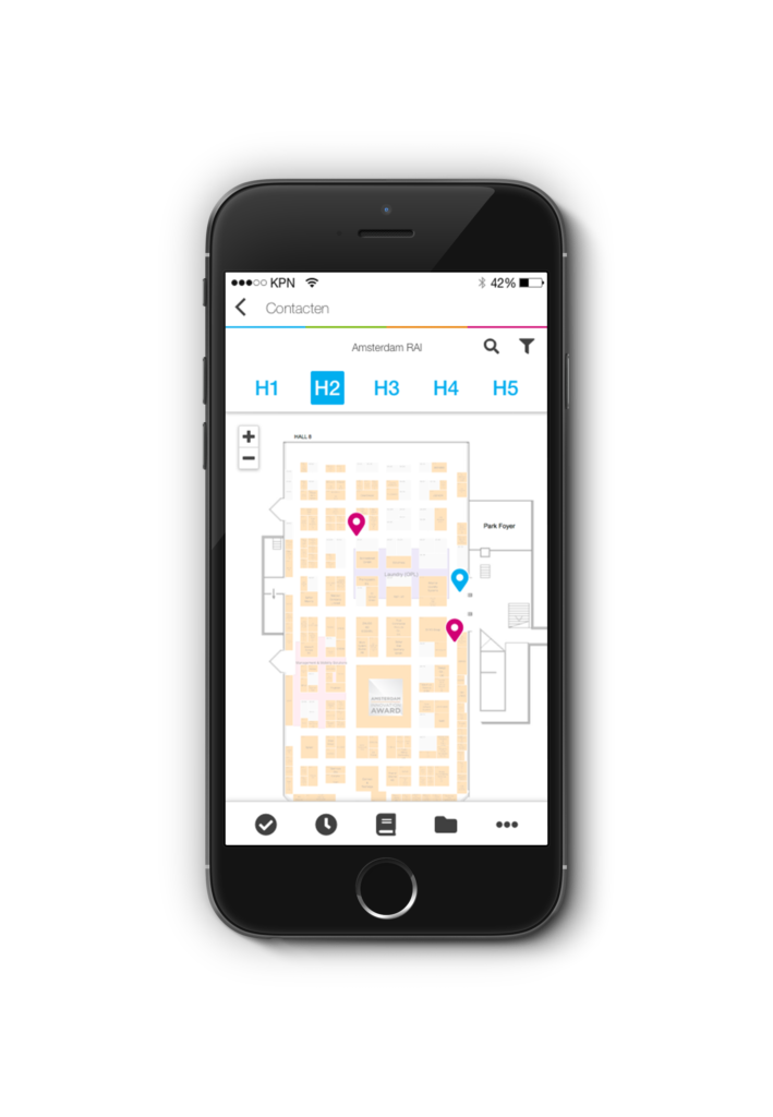 app for indoor positioning and navigation for cleaners