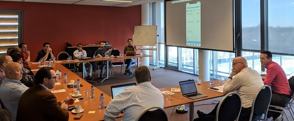 Met de strategische gebruikersgroep rond de 'Werkbon App' zijn de wensen inmiddels vastgelegd voor de komende maanden.