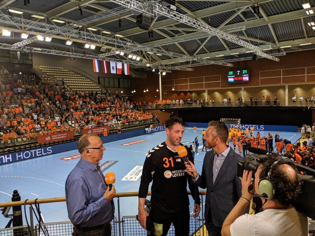 Gerrie Eijlers spreekt bij Ziggo Sport direct na de wedstrijd