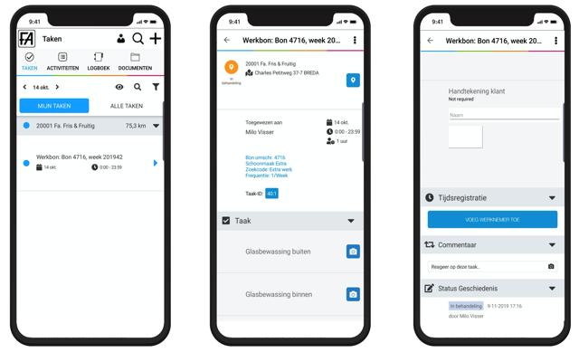 werkbon app facilityapps