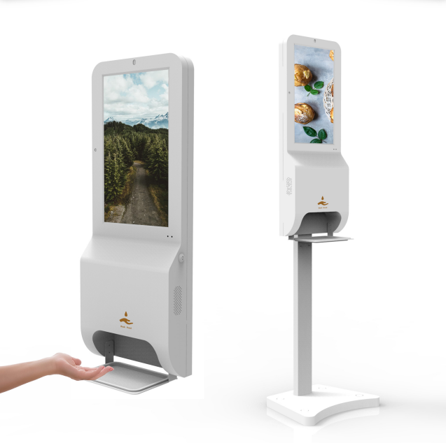 automatic hand sanitizer dispenser stand with sensor and app