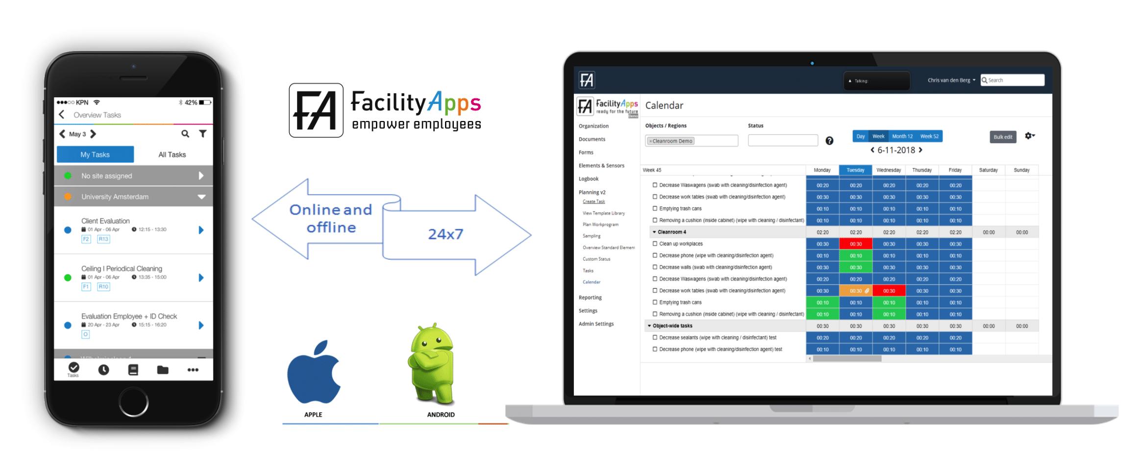 facilityapps demo app