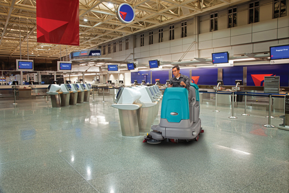 asset management cleaning tennant airport